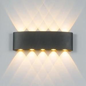 Image 3 - YooE الحديثة 4 واط 6 واط 8 واط داخلي وحدة إضاءة LED جداريّة أضواء الشمال في الهواء الطلق مقاوم للماء IP65 حتى أسفل الشمعدان غرفة المعيشة الشرفة حديقة مصابيح الحائط