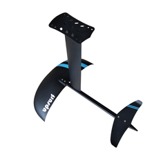 Hidrofoil foi kite foil hidrofoil con mástil de aluminio H5 lámina de aluminio para cometa, wingsurf