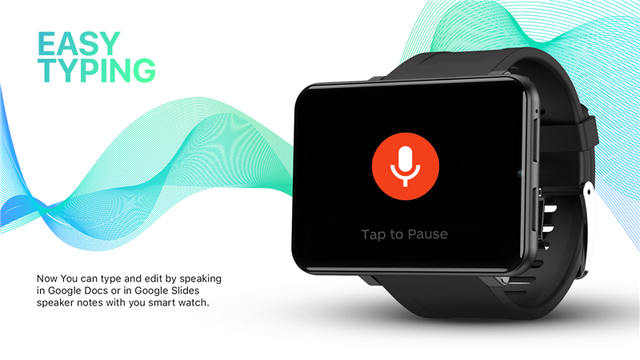 DM100 4G 2.86 Inch Screen Smart Watch Android 7.1 OS Phone 3 GB 32GB 5MP Camera 480*640 Ips Screen 2700mah Battery Smartwatch 4