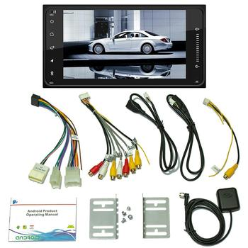 Car Radio Multimedia Player Andriod GPS Navigation 7 Touch Screen Autoradio Support Rear View Camera Backup Monitor image