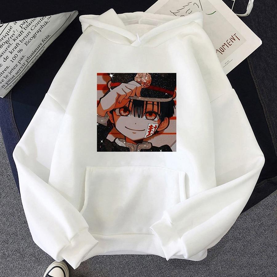 Jibaku Shounen Hanako kun Harajuku Womens Hoodie Fashion Fleece Hoodies Casual Clothes Street Loose Female Sweatshirt 11