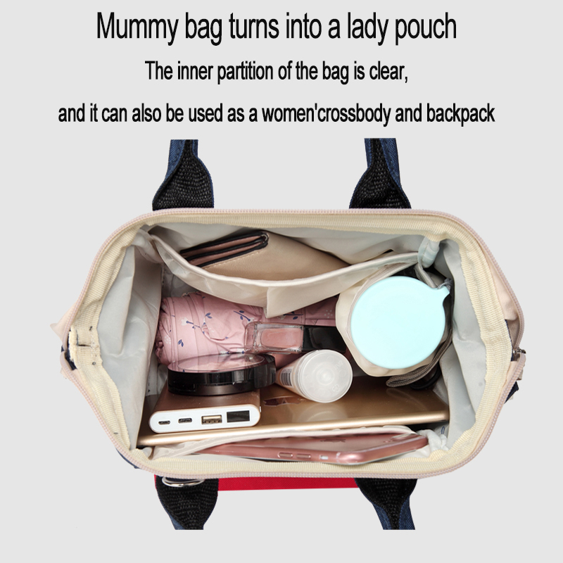 Babay Diaper Bags Fashion Mummy Maternity Nappy Bag Mini Mother Backpack Multi-function Waterproof Baby Bags For Mom Backpack