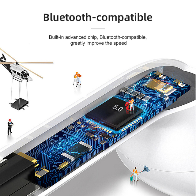 i7Mini TWS Wireless Headphones for iOS Earphones Support Bluetooth-compatible Wireless Sports Waterproof Headset with Microphone 6
