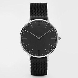 Image 2 - Top Brand Women Watches 38mm Fashion Ultra thin Stainless Steel Ladies Dress Watch Montre Femme Zegarki Damskie Reloj Mujer Gift