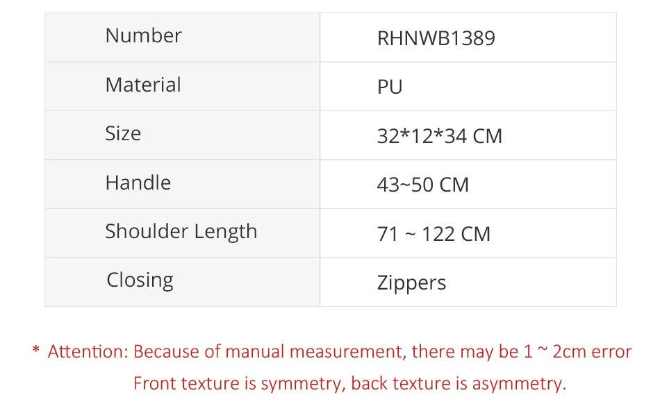 designer serpentina padrão hobos grande capacidade sacos