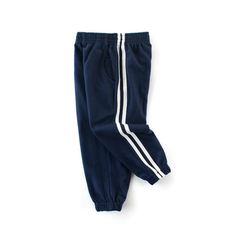 27kids Autumn Sport Boys Pants Dinasour Embroidery Girls Trousers 2-9Year Children Pants winter Sweatpants 6