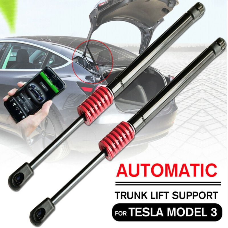 For Tesla Model 3 Automatic Trunk Lift Support Pneumatic Rear Trunk Struts Kit