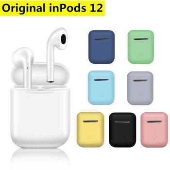 цена на SZMDC Wireless Headset Original inPods 12 TWS Bluetooth 5.0 Sport Earphone Stereo For iPhone Xiaomi Huawei Samsung Smart Phone