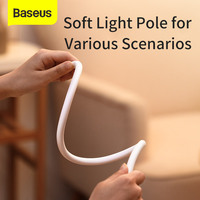 Baseus Foldable Table Lamp LED Desk Lamp Flexible Dimmable Touch Lamp Eye-protected Light For Study Bedroom Table Light Reading