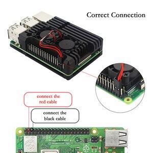 Image 5 - Raspberry Pi 4 Model B zestaw 2G / 4G RAM + aluminiowa obudowa + zasilacz + 32GB/karty SD o pojemności 64GB + Micro kabel HDMI dla Raspberry Pi4