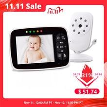 Nieuwste Babyfoon, 3.5 Inch Lcd scherm Baby Nachtzicht Camera, Twee Weg Audio, temperatuur Sensor, Eco Modus, Slaapliedjes