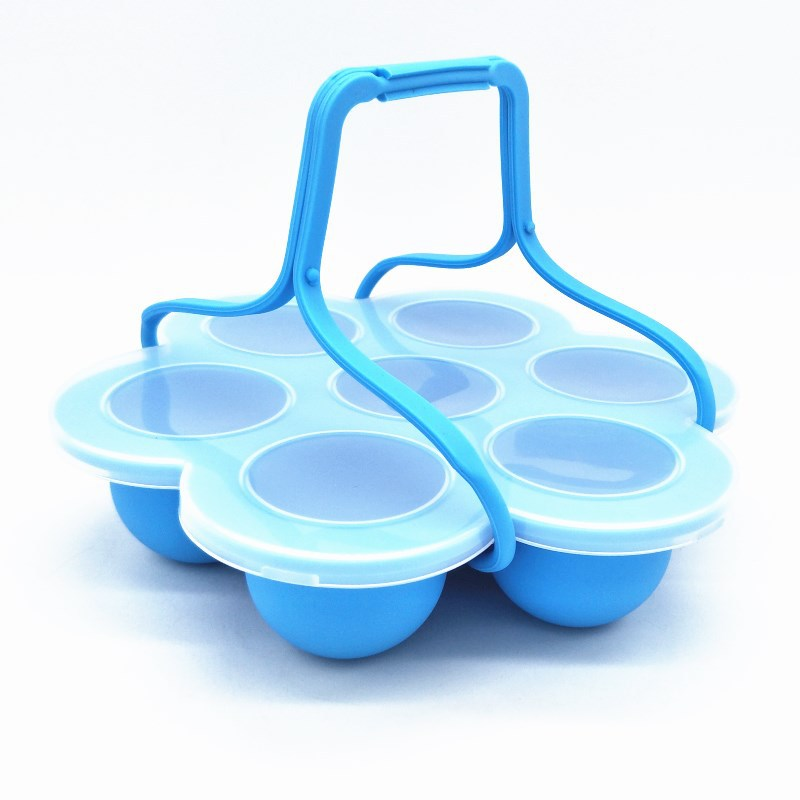 Baby Food Storage Boxes Candy Color Kids Children'S Tableware Sealed Box Baby Food Containers Cups Reusable With Tray