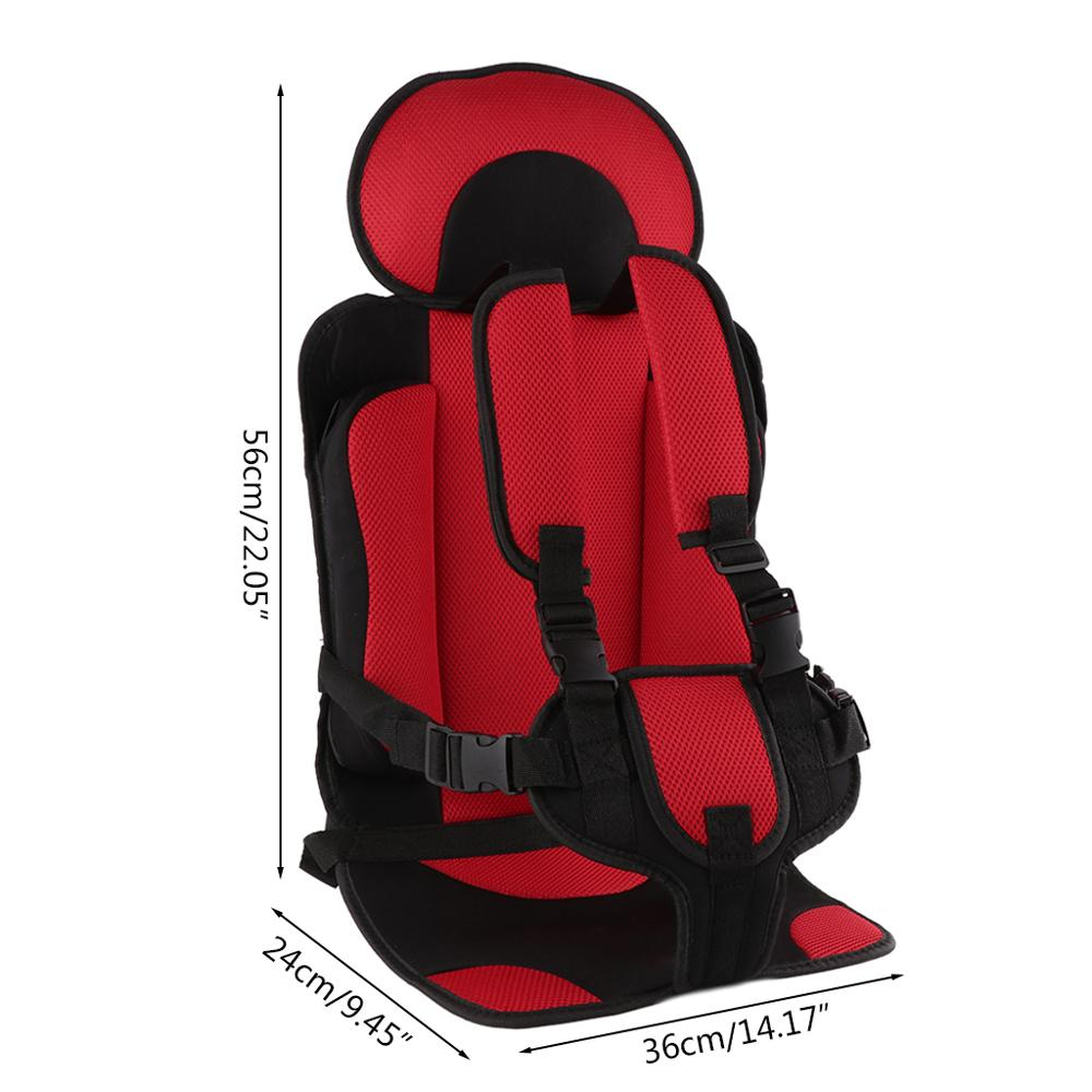 gaijia 1 5T Travel Baby Safety Seat Cushion With Infant Safe Belt Fabric Mat Little Child Carrier in Seat Belts Padding from Automobiles Motorcycles
