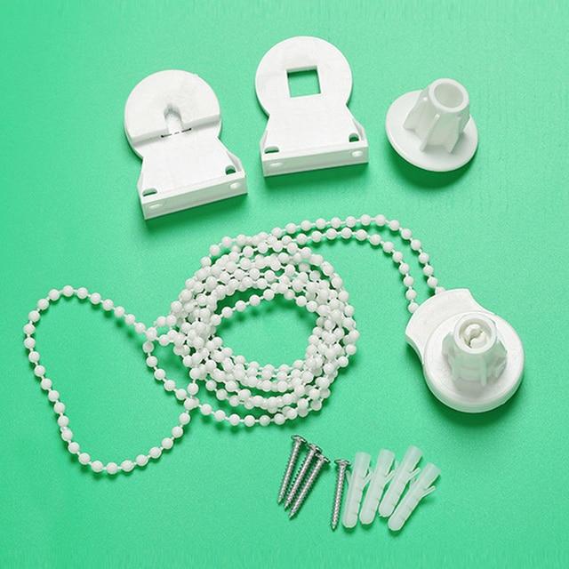 25 MM pièce décorative facile installer perle chaîne Durable aveugle ombre obturateur maison rideau accessoires Pack rouleau support pratique