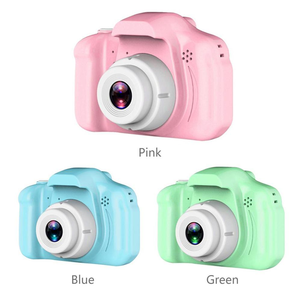 Children's Camera 8 Million Pixel 2.0 Inch 1080P HD Screen Camera Video Toy Cartoon Cute Camera Photography Kids Birthday Gift