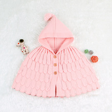 Newborn Baby Girls Knit coat Fur Winter Warm Coat Outerwear Cloak Jacket Kids Clothes Easter Costume 0-2 Years brand baby infant girls fur winter warm coat 2018 cloak jacket thick warm clothes baby girl cute hooded long sleeve coats jacket