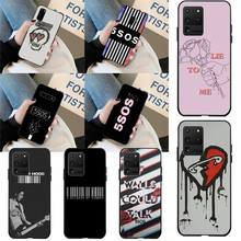 HPCHCJHM 5Sos band YOUNGBLOOD 5 Seconds of Summer DIY Luxury Phone Case for Samsung S20 plus Ultra S6 S7 edge S8 S9 plus S10 5G 5 seconds of summer 5 seconds of summer youngblood