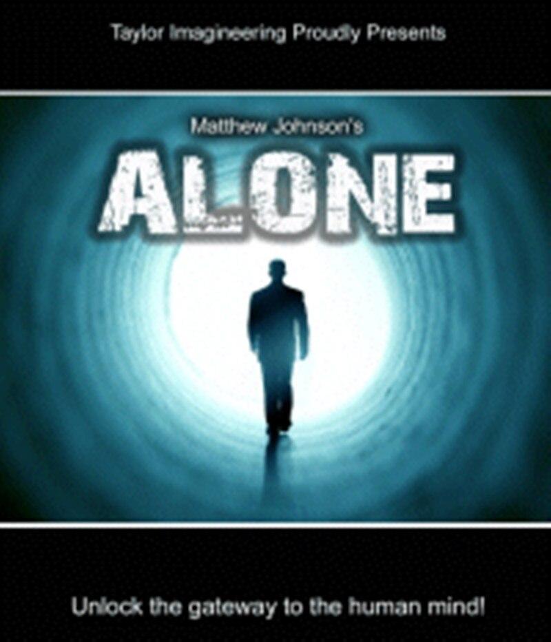 Alone di Matthew Johnson (DVD + Gimmick) close Up Trucchi Magici Accessori Mentalismo Magia Illusioni Mente Previsione trucos de ma-in Trucchi di magia da Giocattoli e hobby su  Gruppo 1