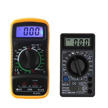 DT830B XL830L AC/DC LCD Digital Multimeter 750/1000V Voltmeter Ammeter Ohm Tester High Safety Handheld Meter Digital Multimeter dy2201 ac dc 1000v automotive multimeter
