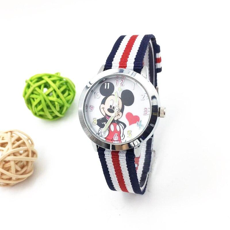 Cartoon Minnie Reloj Mujer Women Watches Luxury Brand Fashion Quartz Watch Cute Mickey Ladies Wristwatch Kids Girls Female Clock