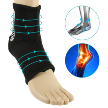 1PC Ankle Support Brace Elastic Ankle Brace Protect Foot Bandage Running Sport Fitness Guard Anti Sprain Ankle Protector 1pcs ankle support brace stirrup sprain stabilizer guard ankle sprain aluminum splint