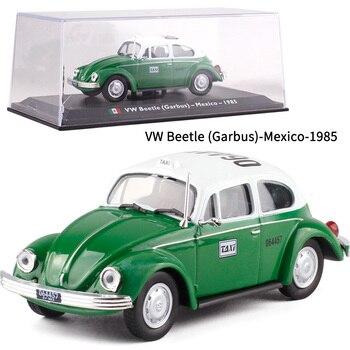 1: 43 Beetle Garbus Mexico Volkswagen Beetle Mexico Taxi Metal Car Model Collection Toys