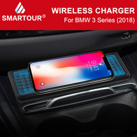 Nuevo https://ae01.alicdn.com/kf/Hc3523e4180104261ba858acb62479882j/Cargador inalámbrico Carplay 10W Qi para BMW F30 F31 F34 F32 F36 3 Series 2013 2018.jpg