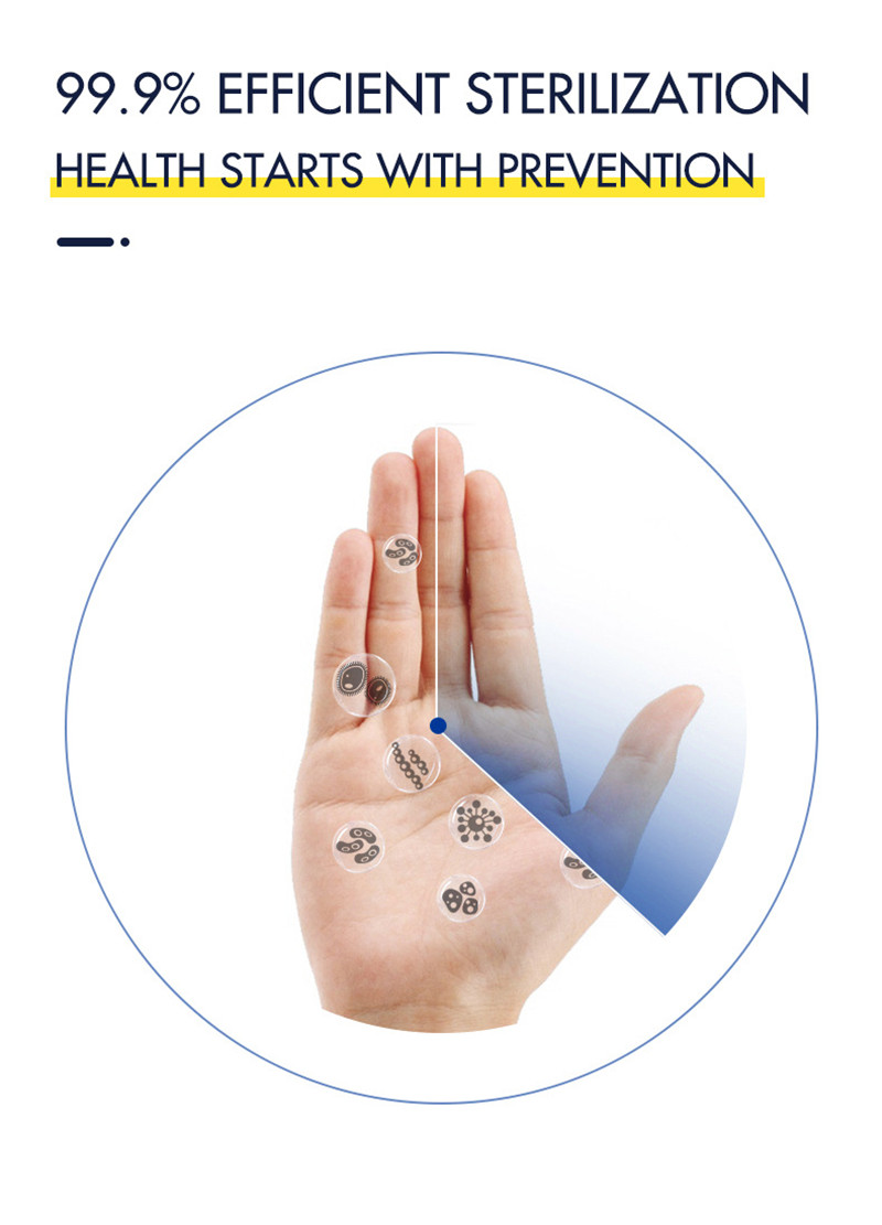 30pcs CE Certification Hand Sanitizer Disposable In Stock No Washing Quick Drying Antibacterial Hand Gel Disinfection Gel TSLM2