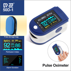Image 2 - RZ Portable Finger Oximeter Fingertip PulseOximeter Medical Equipment With OLED Display Heart Rate Spo2 PR Pulse Oximeters
