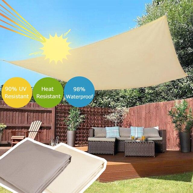 Gazebo Waterproof Awning Camping Durable Anti UV Portable Garden Sunscreen Hiking Shade Canopy Quick Drying Outdoor