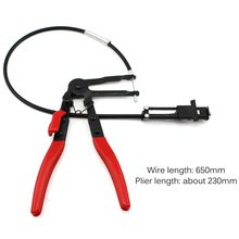 Flexible Lock Hose Clip Clamp Plier Bundle Clamp Cable Wire Plier Car Auto Fuel Oil Water Pipe Install Repairing Tool