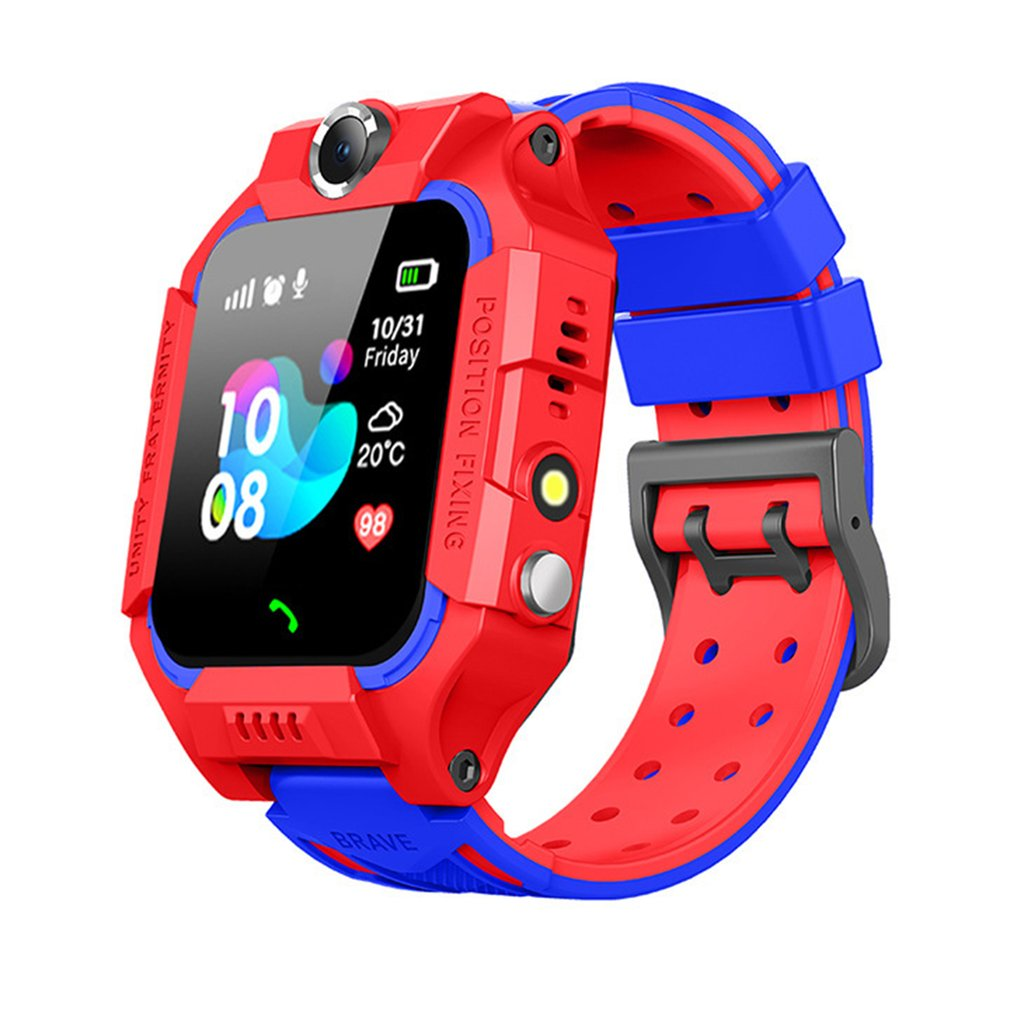 Children Smart Watch Positioning Kid Phone Watch Sim Call SOS Anti-lost Camera Flashlight Touch Screen Baby Wrist Watch