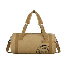 men and women High capacity handbag Men canvas sports bag tr