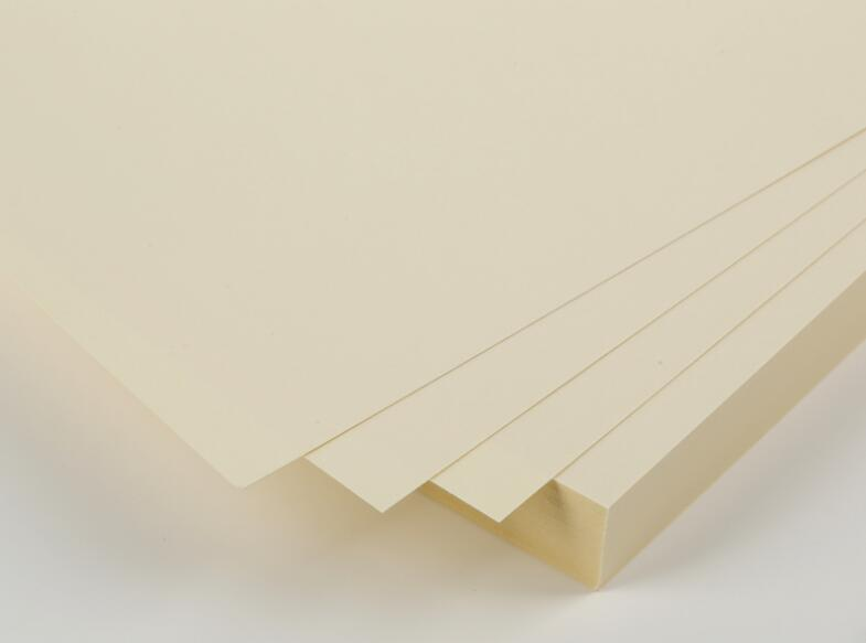 Size 210*297mm 240gsm Matte Cardstock Thick Paper Ivory White Card 50 Sheets/Pack