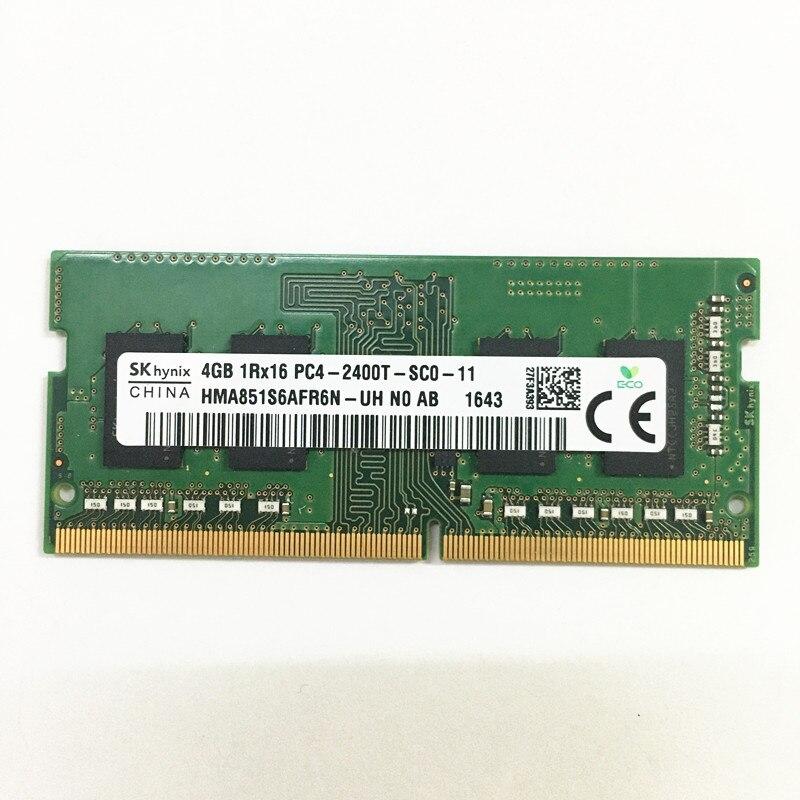 Память для ноутбука Sk hynix DDR4 RAM 4GB 1Rx16 PC4-2400T-SC0-11 ddr4 4gb 2400MHz