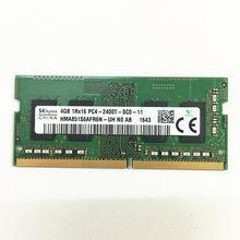 Memória do portátil do ddr4 de sk hynix ddr4 ram 4gb 1rx16 PC4-2400T-SC0-11 ddr4 4gb 2400mhz
