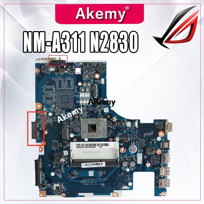 Brand New ACLU9 / ACLU0 <font><b>NM</b></font>-<font><b>A311</b></font> Motherboard for Lenovo G40 G40-30 laptop MOTHERBOARD With cpu ( for intel CPU ) tested 100% work image
