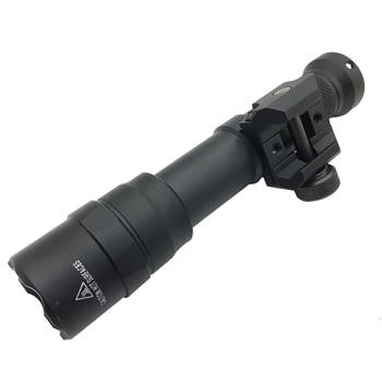 SOTAC M600DF 1400 Lumens Tactical Flashlight Surefir Scout Light Hunting Softair Mount Weapon Light Pistol Gun Light 4