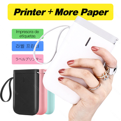 Label Printer Portable Pocket Label Printer Mini Sticker Bluetooth Thermal Label Printer Home Office Printer Paper Niimbot D11