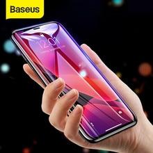 Baseus Gehärtetem Glas Für iPhone 12 11 Pro Xs Max X Screen Protector Für iPhone Gehärtetem Glas Voll Abdeckung Bildschirm schutz Glas