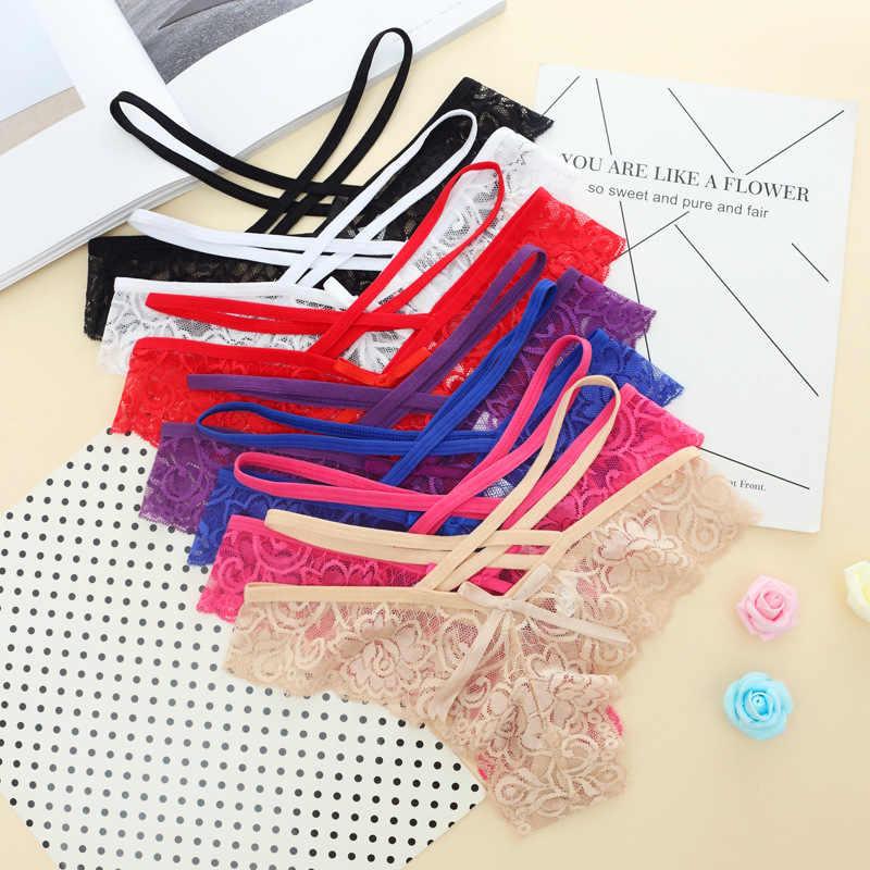 Baru Desain Seksi Kecantikan Celana Dalam Wanita Seamless G String Thong Pakaian Imut Hollow Out Bikini Celana Pakaian Dalam Wanita Celana Dalam