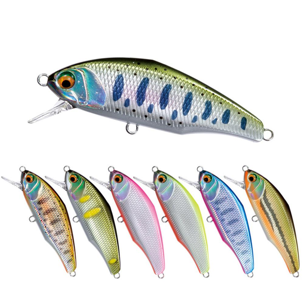 Mises 44mm 3.5g Pesca Wobbler Fishing Lure Mini Sinking Lure Bionic Bait Minnow Lure 3D Eyes Artificial Plastic Hard Bait Bass|Fishing Lures| - AliExpress