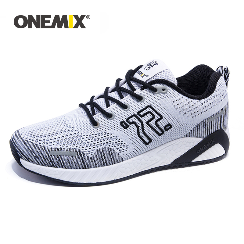 Onemix Men s Running Shoes Lightweight Breathable Original Unisex Sneakers Mesh Sport Boots Sneakers Yoga Shoes
