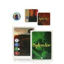 2020 tam ingilizce Splendor kart oyunu okul aile parti oyunu yetişkin finansmanı yatırım iskambil kartları