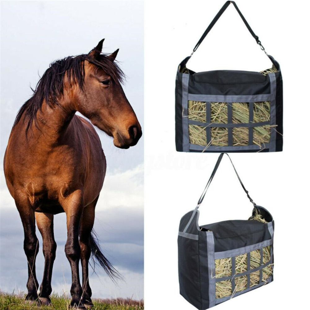 High Quality Slow Feed Hay Bag Haylage Storage Bag Storage Bag Outdoor Riding Performance Training Equipment