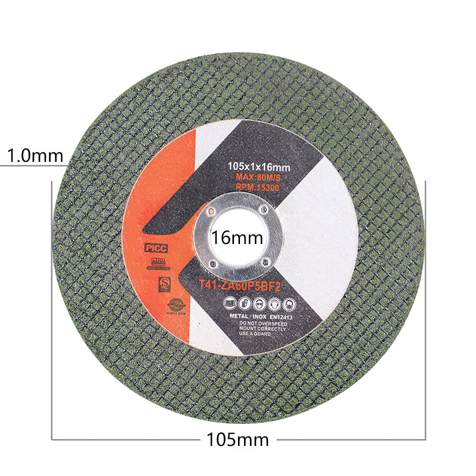 105mm/4.13''  (inner Dia. 16mm) Cutting Disc Metal Cutting Wheel For 100mm Angle Resin Grinding Disc Accessories