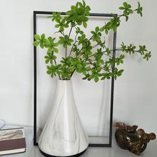 94cm17 Leaf Artificial Plant Plastic Magnolia Branch Tropical Green Storefront Flower Living Room Hotel Office Decorat