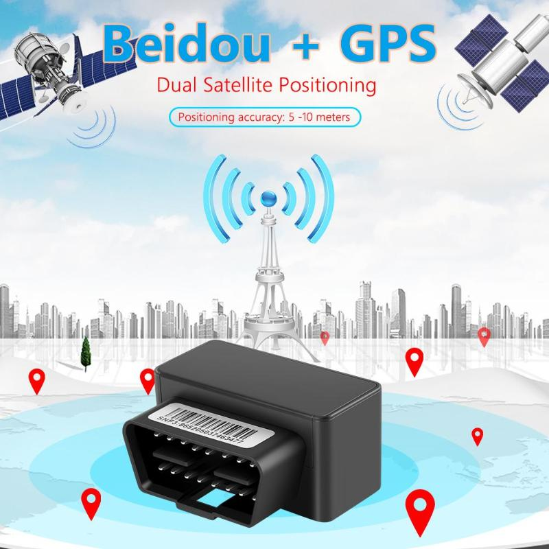 Image 3 - OBD II GPS Tracker Car GSM 16 Pin OBD2 Tracking Device GPS+Beidou Locator OBDII with online Software IOS Andriod APPGPS Trackers   -