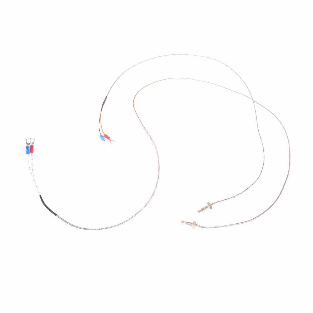 Sonde industrielle capteur de température câble fil K Type Thermocouple régulateur de température 0.5 m/1 m M6 vis