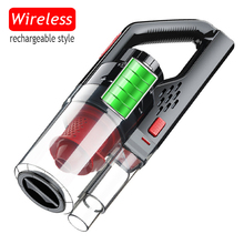Car-Vacuum-Cleaner Wireless Power-Suction Batte 6000PA Handheld Portable 150W for Strong